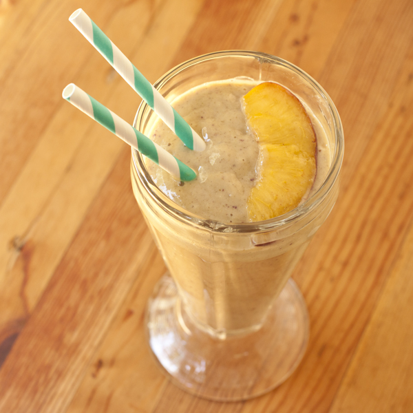 Peach Mango Power Smoothie from Recipe Renovator
