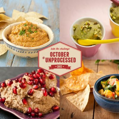 October Unprocessed Week 4: Snacks