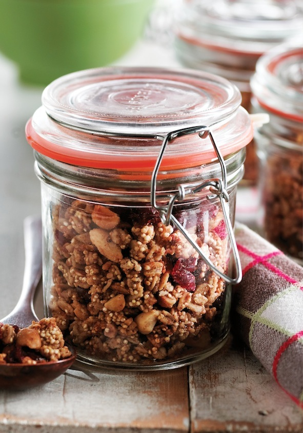 Peanut Butter Quinoa Granola