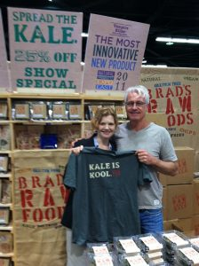 Brad's Raw Foods Kale Chips at Fresh Summit