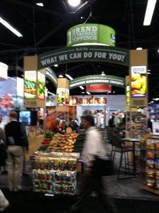 Produce Marketing Association's Fresh Summit exhibit hall