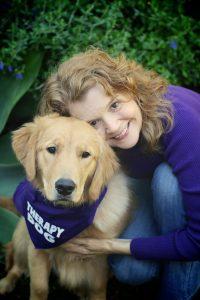 Author Stephanie Weaver with Daisy   Recipe Renovator