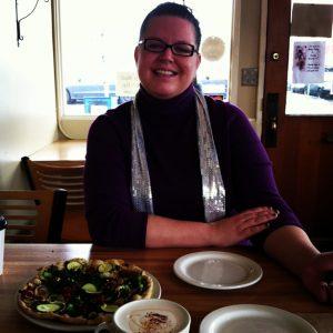Food blogger Kristina Sloggett