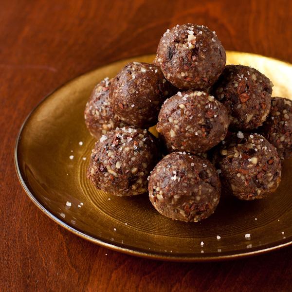 Chocolate Pecan Truffles from Recipe Renovator