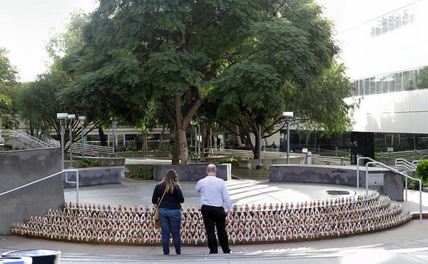 Critical mass art installation at TEDxSanDiego