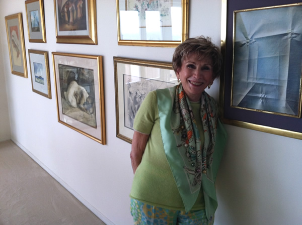 Dr Edie Eger in her home