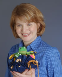 Stephanie with Toys