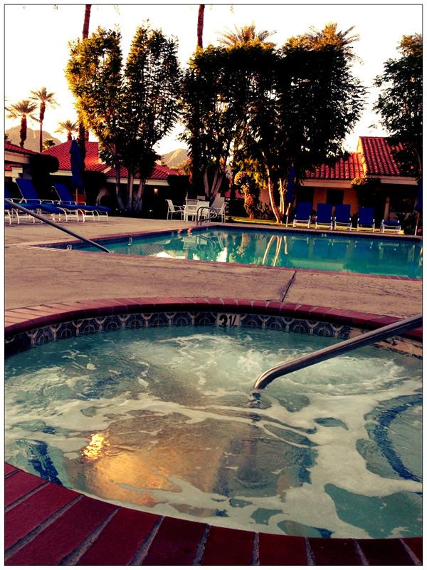 Hot Tub at La Quinta