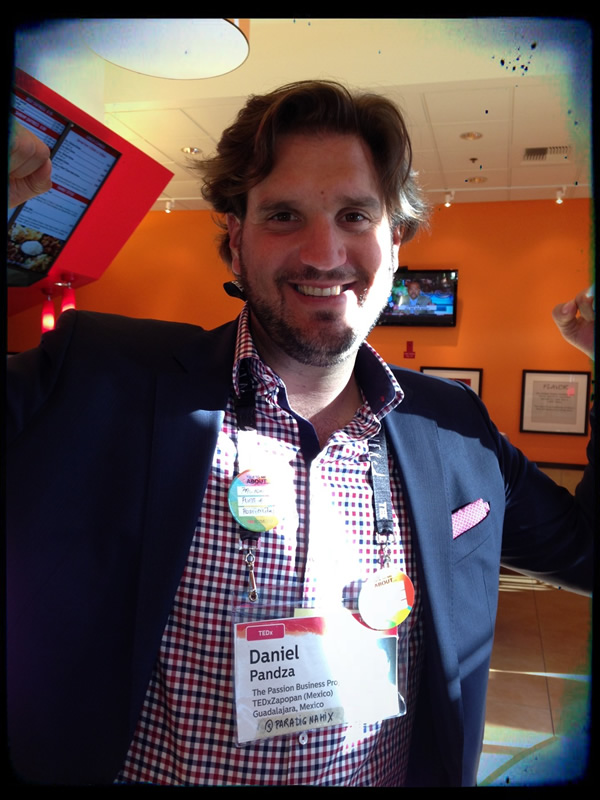 Daniel from the TEDActive conference