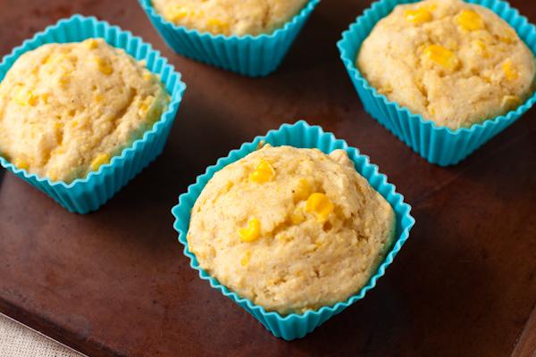 Church Supper Corn Casserole Muffins
