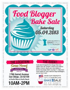 bake sale flyer 2013