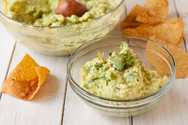 Easy, perfect guacamole