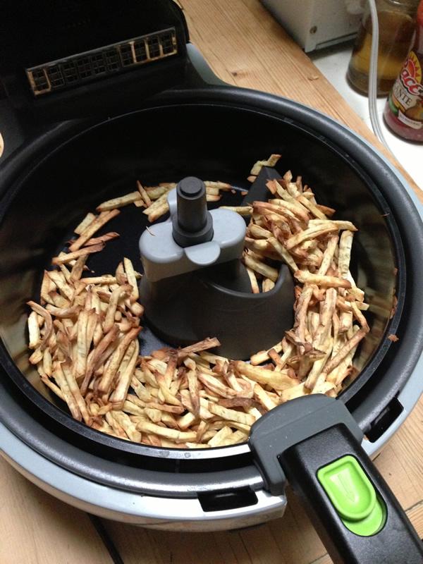 Actifry Shoestring Sweet potato fries