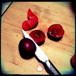 How to pit plums | Recipe Renovator