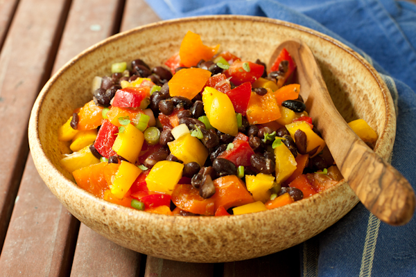 Black Bean Salad from Campfire Cuisine | review by Recipe Renovator