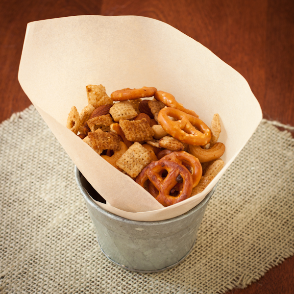 Chex Mix | Fresh from the Vegan Slow Cooker | Review by Recipe Renovator