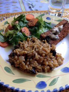 Wild Mushroom & Sun-dried tomato risotto