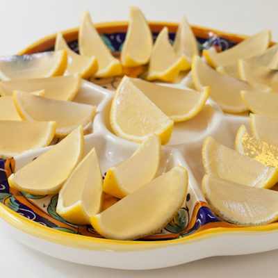 Lemon drop jello shots {vegan version}