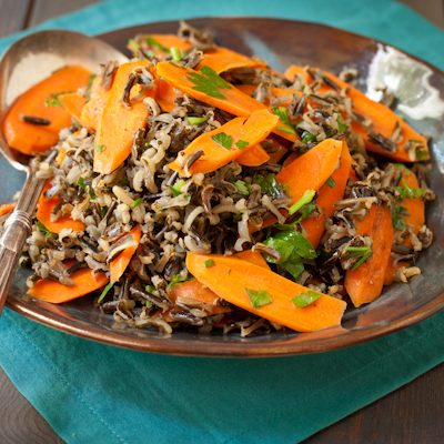 Wild Rice and Carrots | A Cooking LIght recipe renovation | Recipe Renovator