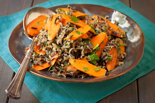 Wild Rice and Carrots | A Cooking LIght recipe renovation | Recipe Renovator
