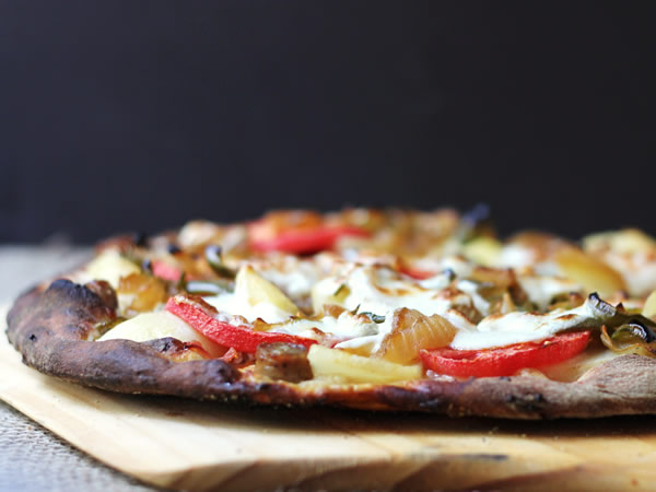 Breakfast pizza by Cookistry for Dog Days of Summer on Recipe Renovator
