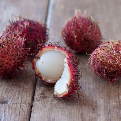 How to prepare rambutan, dragon fruit, and starfruit