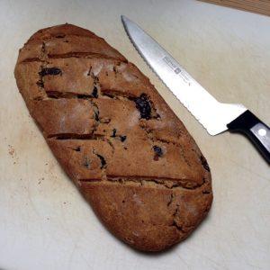 Perfect Kalamata Bread from Gluten-Free & Vegan Bread review   Recipe Renovator