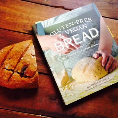 Cookbook review: Gluten-Free & Vegan Bread by Jennifer Katzinger