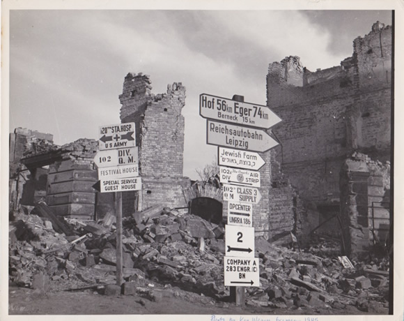 Germany in rubble | Photo by Kenneth Weaver | Recipe Renovator