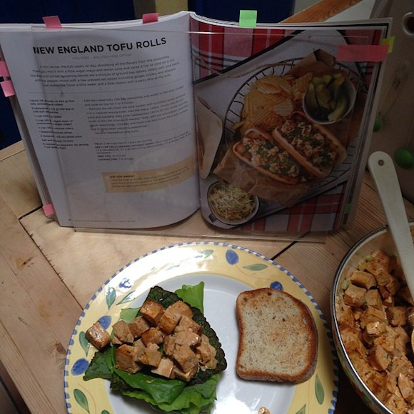 New England Tofu Rolls from Vegan Slow Cooking for Two review by Recipe Renovator