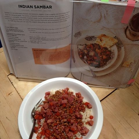 Indian Sambar from Vegan Slow Cooking for Two review by Recipe Renovator