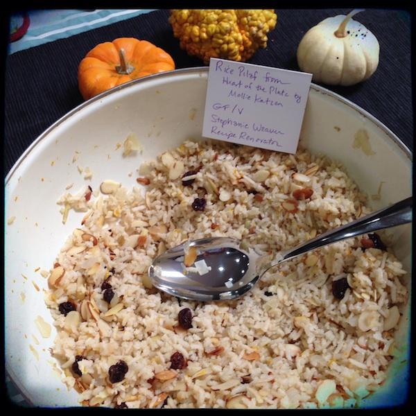 Mollie Katzen Rice Pilaf | Heart of the Plate review by Recipe Renovator