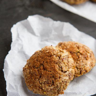 Apple pie quinoa breakfast cookies from @Be_Healthful