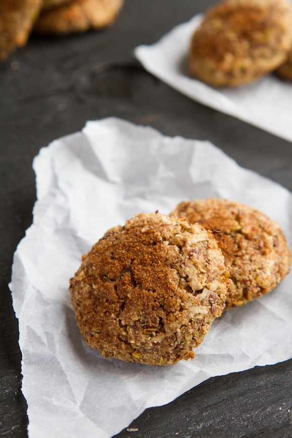 Apple-Pie-Quinoa Cookies from Be Healthful | Month O' Cookies on Recipe Renovator