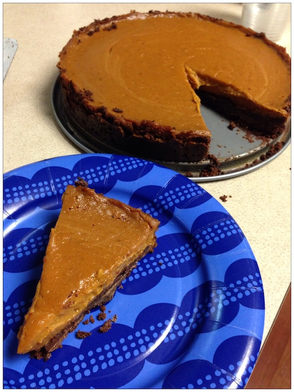 Chocolate Chipotle Sweet Potato Pie | Review of Easy As Vegan Pie on Recipe Renovator