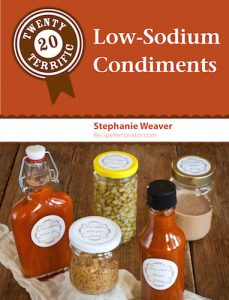 Twenty Terrific Low-Sodium Condiments
