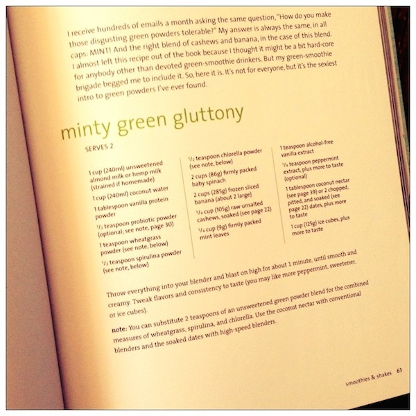 Blender Girl Cookbook recipe | Cookbook Review by Recipe Renovator