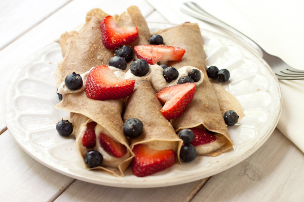 Berry Crepes   Gluten-free, low-sodium, migraine-friendly   Recipe Renovator