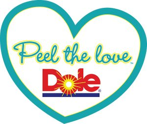 Dole Peel the Love logo