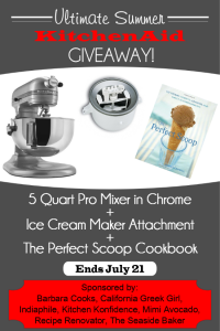 Kitchenaid Giveaway | Ends 7/21/14 at 11:59 PM PDT