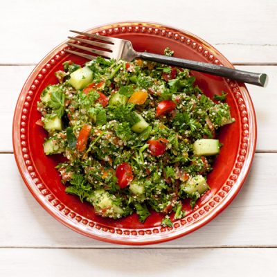 Mediterranean Parsley Salad {paleo tabouli}