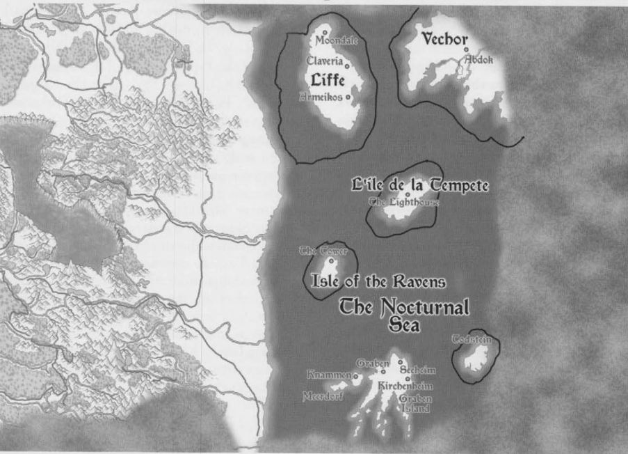 Nocturnal Sea Map