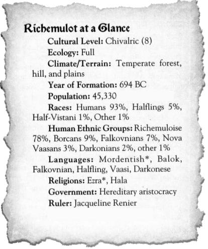 Richemulot at a glance
