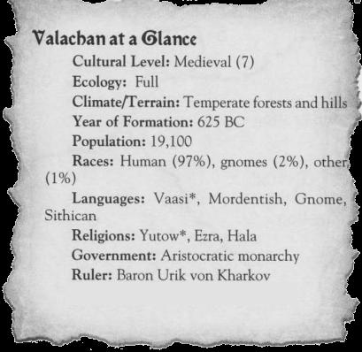 Valachan at a glance