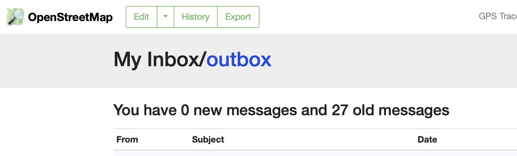 old Inbox image