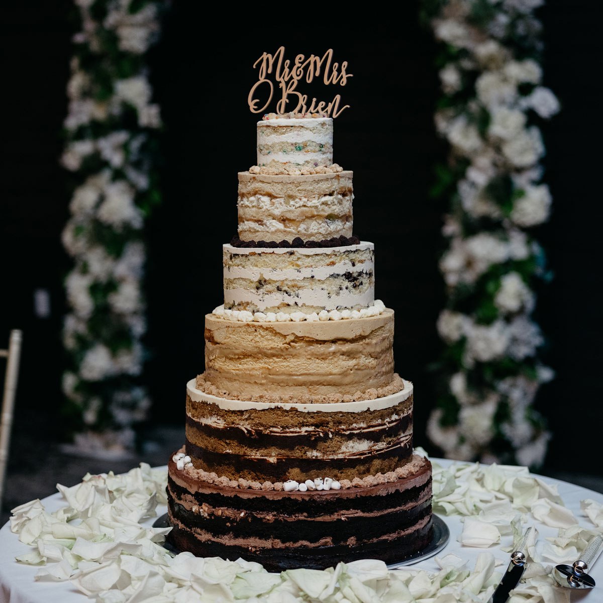 Milk bar bakery weddings 6 tier multi flavor junglespirit Images