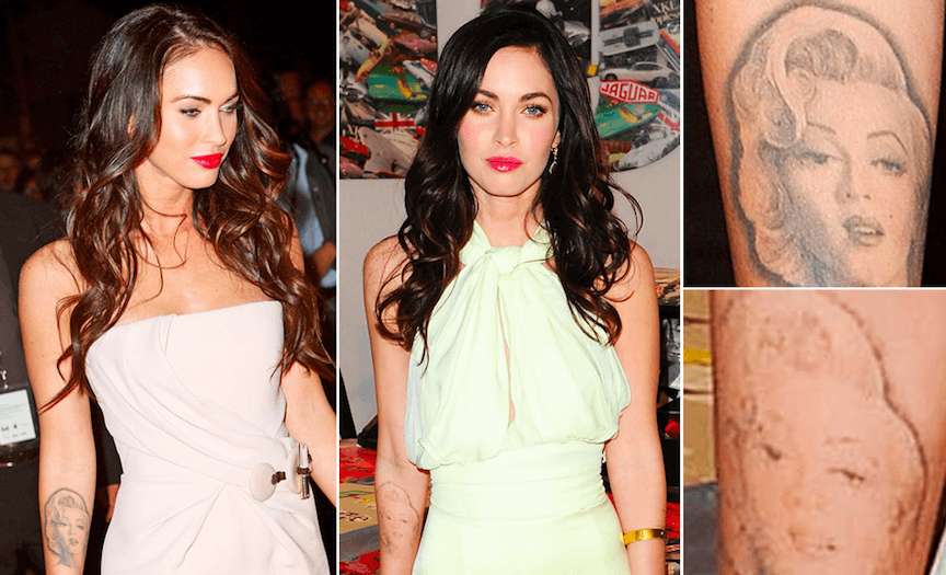 Is Megan Fox Getting Her Marilyn Monroe Tattoo Removed?