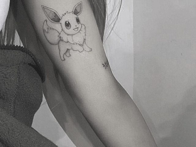 ARIANA GRANDE's new Special Pokémon tattoo is cute but silly
