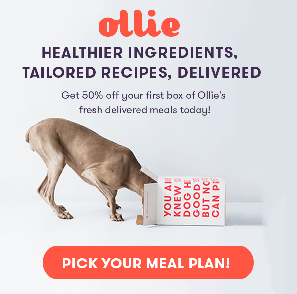 Pick Your Ollie Meal Plan
