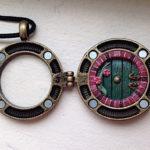 Hidden Hobbit Hole Magnetic Locket